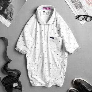 Áo thun nam cotton cao cấp trắng