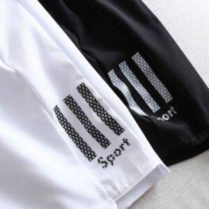 Quần Sport Gió trắng đen